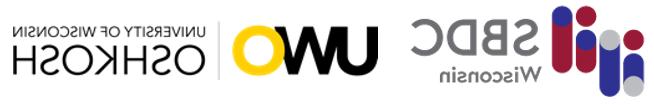 UWO & SBDC联名卡的标志